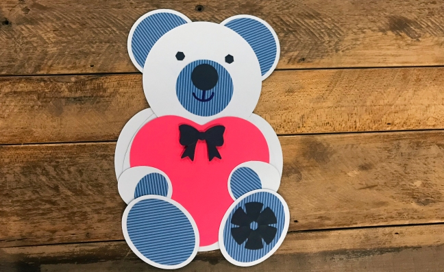 Make Your Own Scrappie The Bear Using The Custom Cutting System