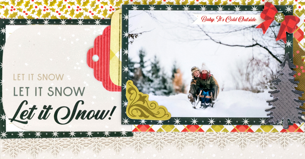 Seasons-Greetings-Christmas-Scrapbook-Layout-Process3