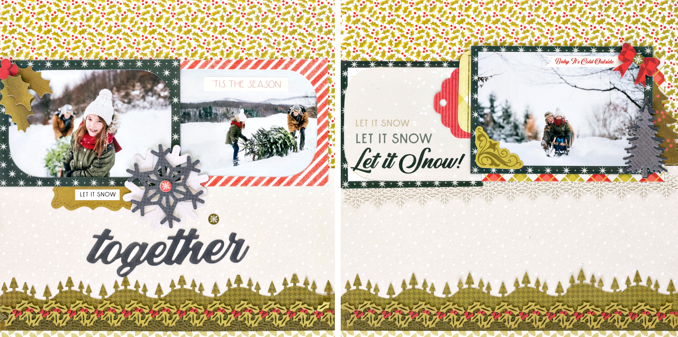 Seasons-Greetings-Christmas-Scrapbook-Layout