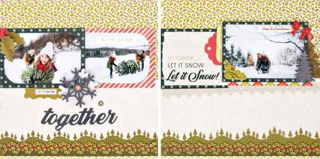Seasons-Greetings-Christmas-Scrapbook-Layout