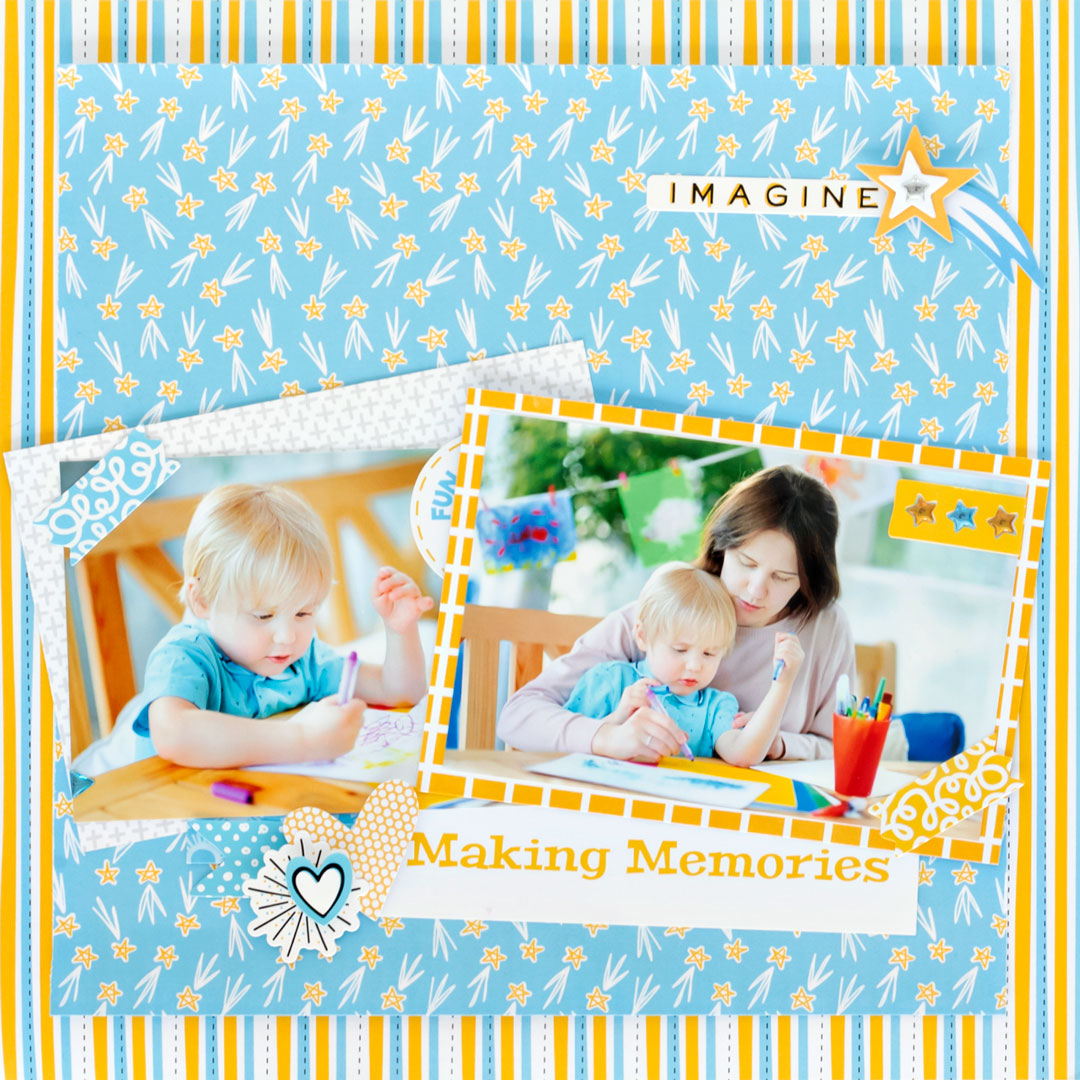 Imagine-That-Scrapbook-Sketch-Layout-Creative-Memories