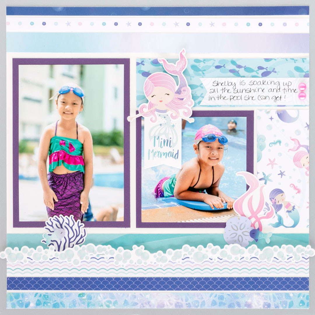 Mermaid-Cove-Scrapbook-Sketch-Layout-Creative-Memories