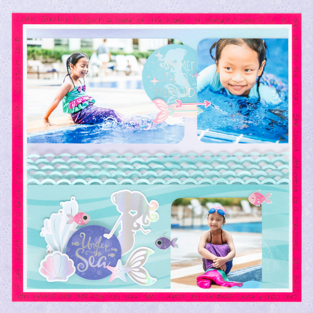 Mermaid-Cove-Scrapbooking-Layout-Creative-Memories