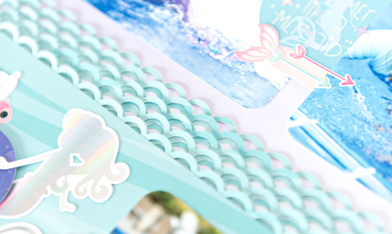 Mermaid-Tail-Scallop-Scrapbook-Punch-Creative-Memories
