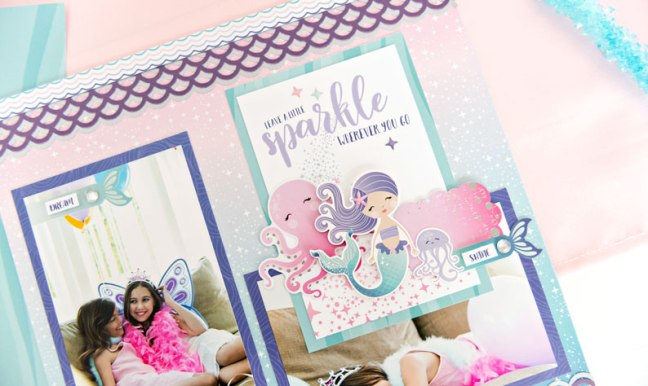 Mermaid-Themed-Scrapbook-Supplies-Creative-Memories