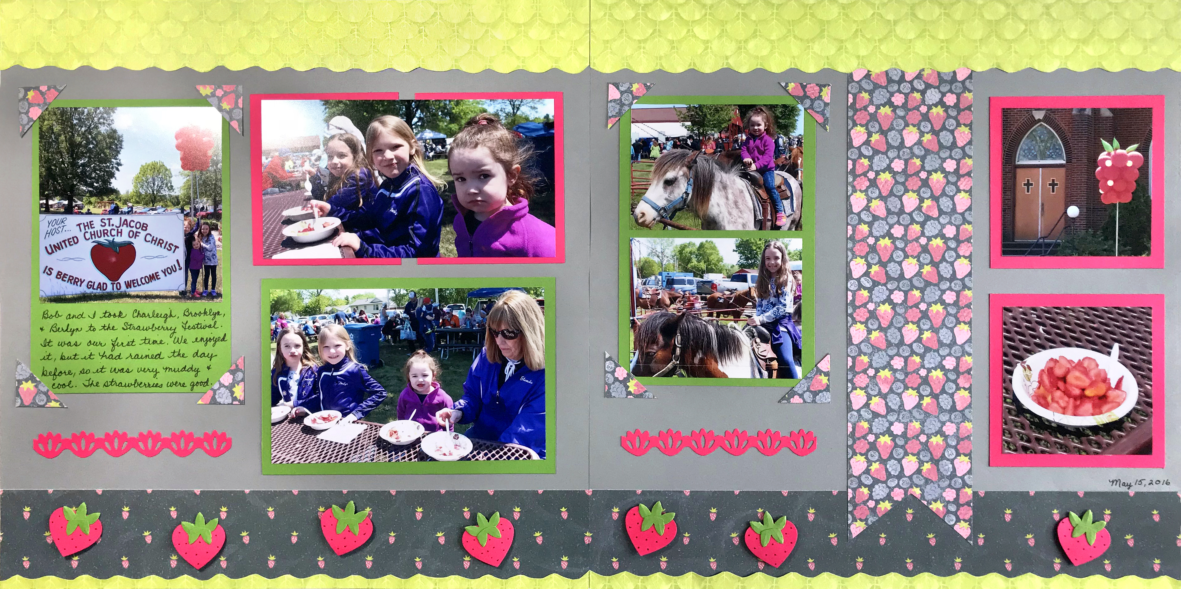 locally-grown-strawberry-scrapbook-layout-creative-memories