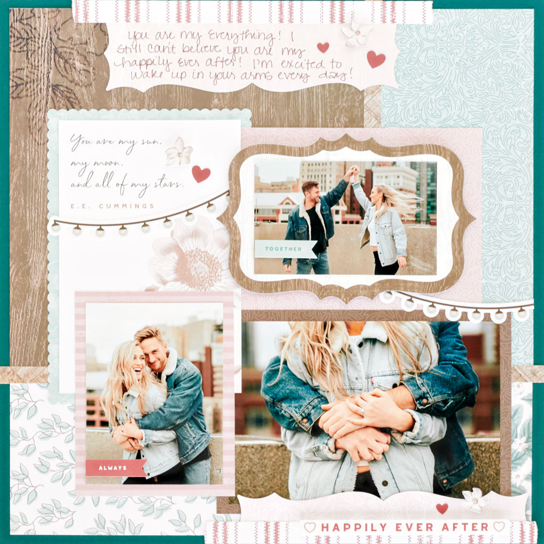 Ever-After-Wedding-Scrapbooking-Layout-Creative-Memories.