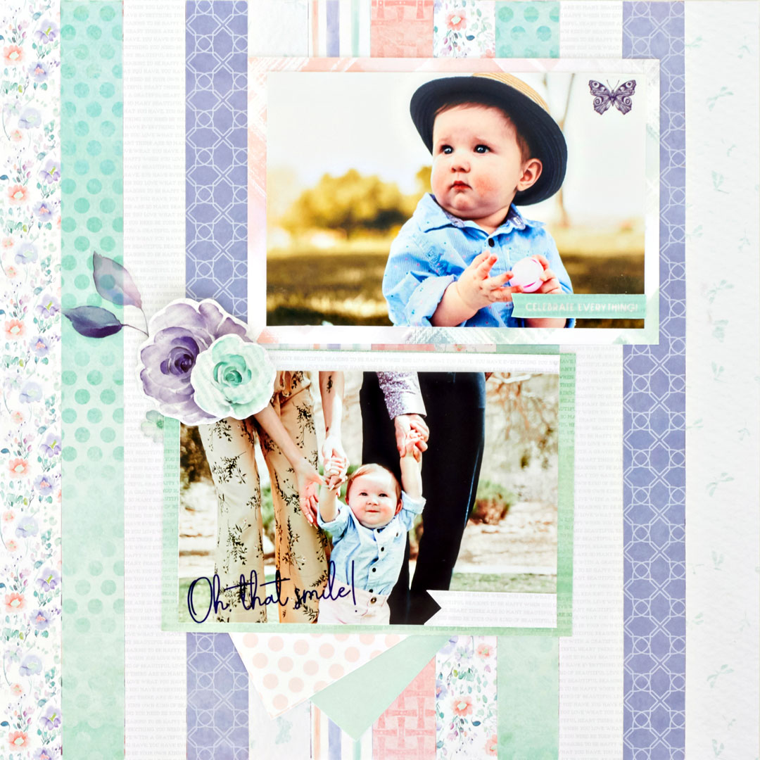Flourish-Scrapbook-Layout-Creative-Memories