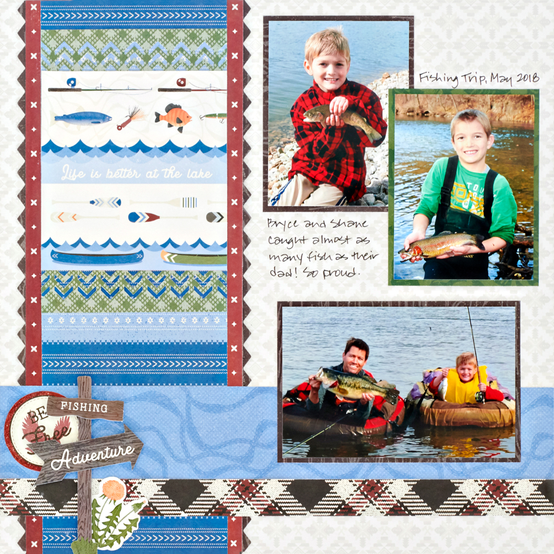 Explorer-Scrapbook-Layout-Creative-Memories