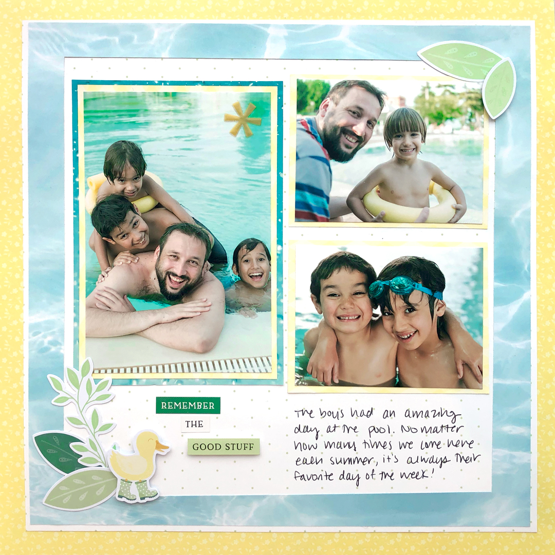 Simply-Sunshine-Scrapbook-Layout-Creative-Memories2