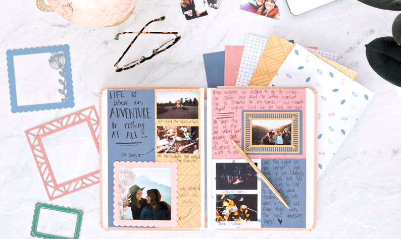 Happy-Album-DIY-Scrapbook-Layout-Ideas-Creative-Memories