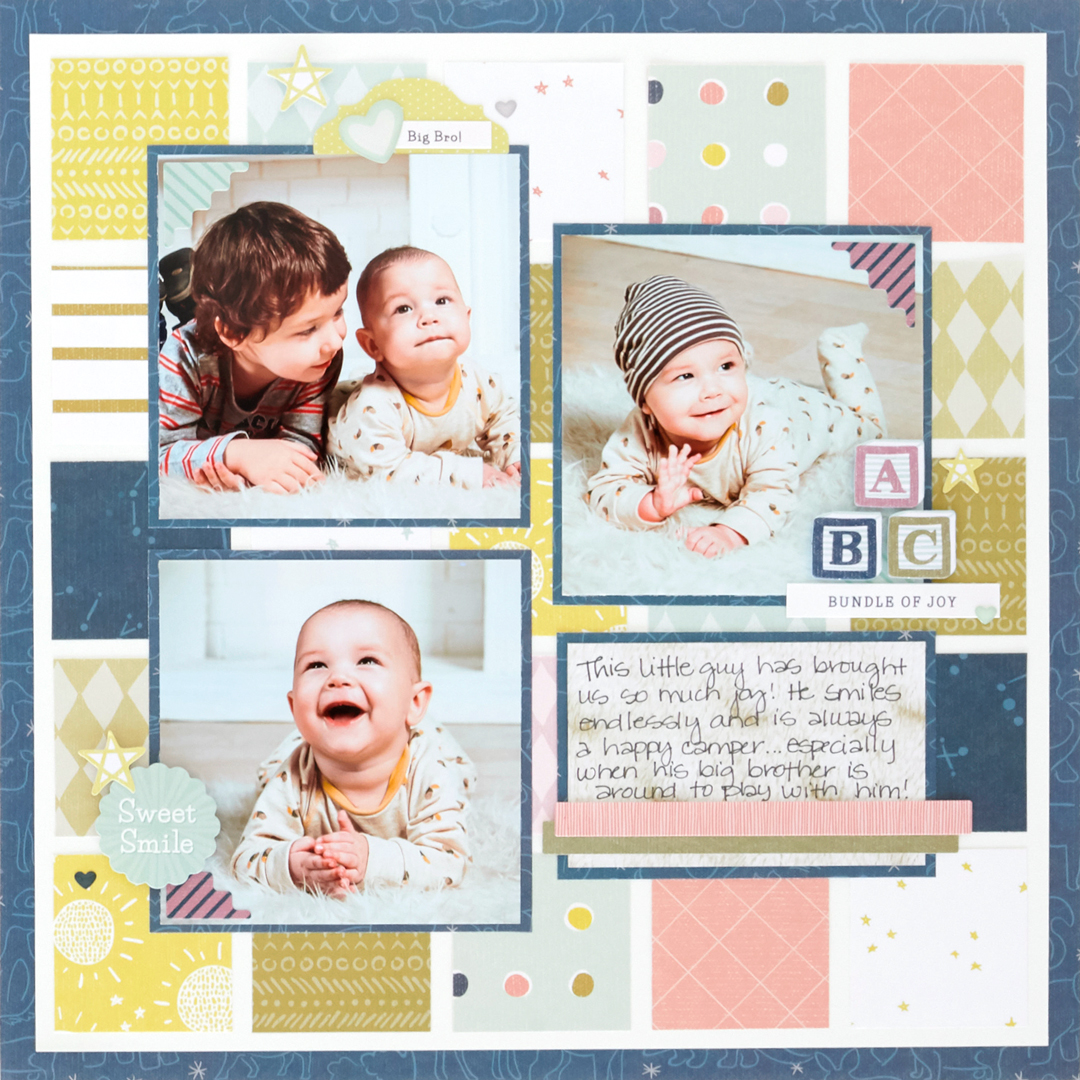 Storytime-Baby-Kid-Scrapbook-Layout-Creative-Memories