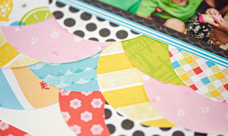 Citrus-Summer-Beach-Themed-Scrapbook-Paper-Creative-Memories