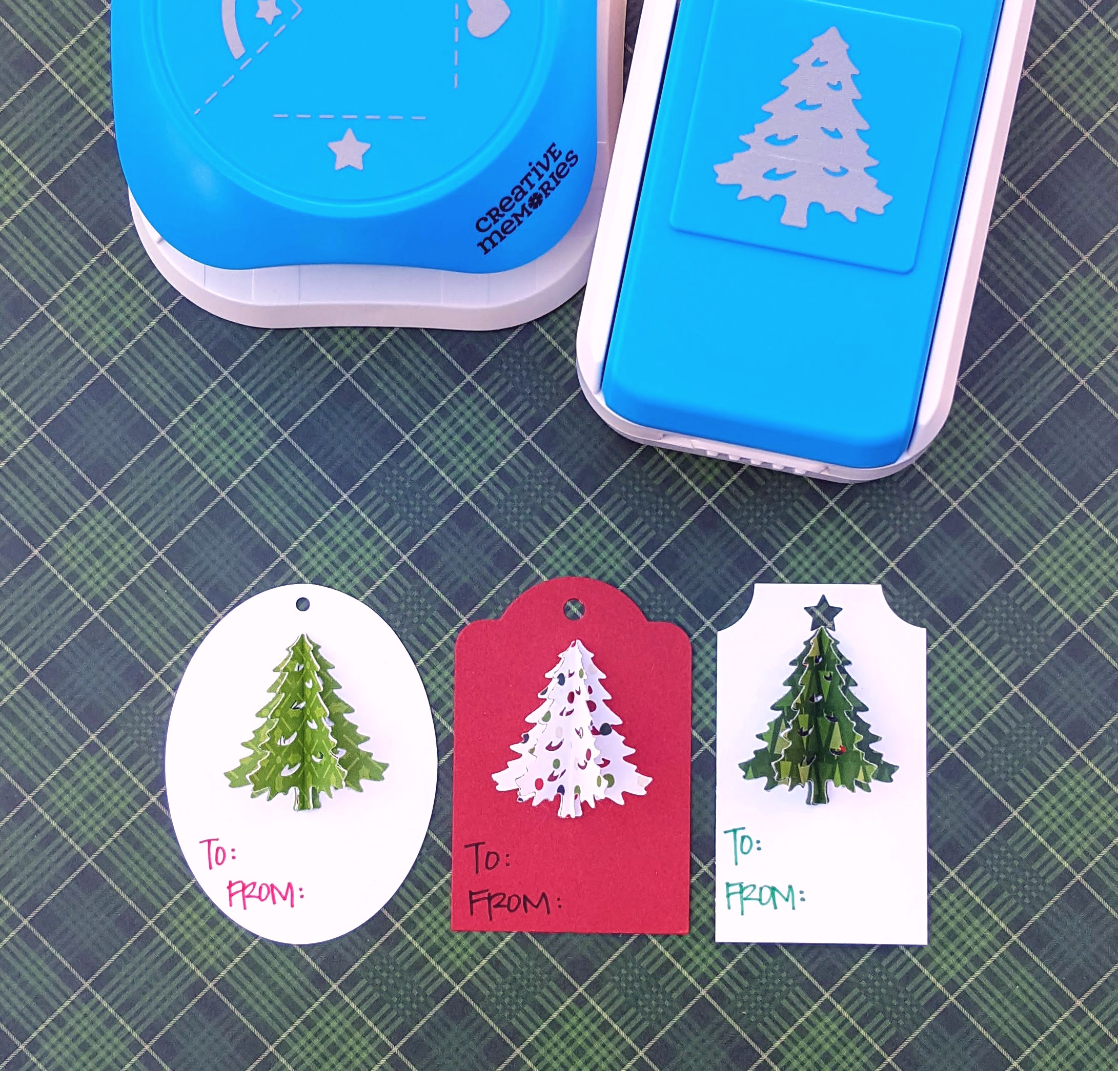Recollections PRESENTS 2 Stickers 3D BIRTHDAY CHRISTMAS PRESENTS GIFTS NEW