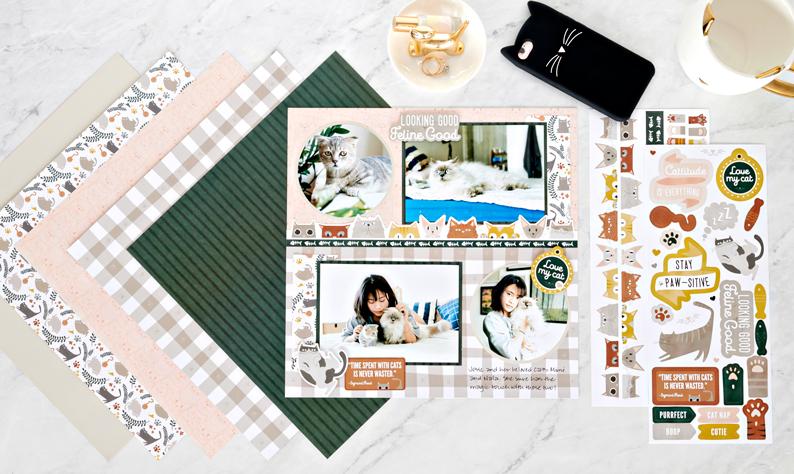 Creative Memories 6 X STICKERS MINI ABC TREASURED DAYS ALBUM KIT