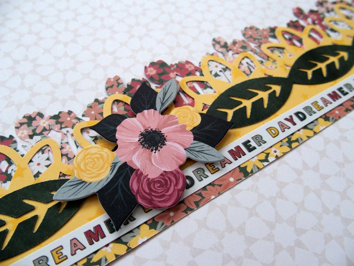 Grau 4 Verschiedene Muster Design Fancy Border Punch Scrapbook Handmade Rand
